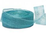 Aquamarine Sinamay Mesh Ribbon image