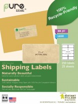Recycle-Friendly Blank Shipping Labels image