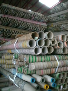 Reclaimed Paper Waste Thread Spindles from Textile Manufacturers