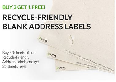 Recycle Friendly Address Labels Buy 2 Get 1Deal